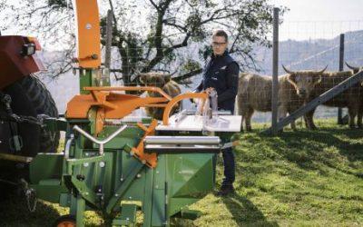 Novinka: Pila k odkorňovacímu stroji Schälprofi